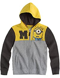Minions Despicable Me Chicos Sudadera con capucha 2015 Collection - Gris