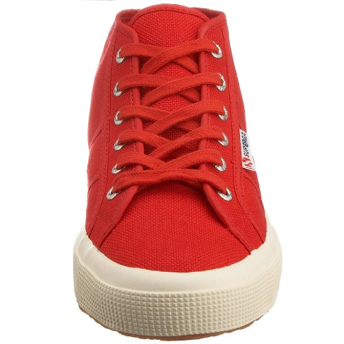 Superga 2754 Cotu, Baskets Unisexes - Rouge Adulte
