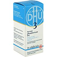 Schüßler 3 Ferrum phosphoricum D6 Tabletten, 80 St. preisvergleich bei billige-tabletten.eu