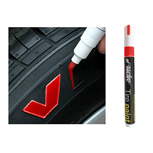 Simoni Racing TP/1R Reifen-Markierung Stift (Tyre Marker) -Rot, Red