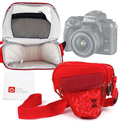 Galleria fotografica Borsa Donna Per Canon EOS M5 | 1300D / Rebel T6 | PowerShot SX620 HS / SX720 HS - Con Maniglia / Tracolla - DURAGADGET