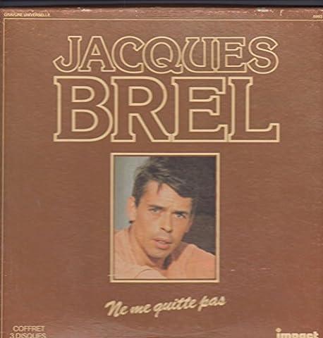 Jacques Brel ne me quitte pas coffret 3 disques 33