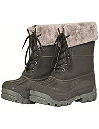 HKM térmica––Zapatos para establo de Londres, color, talla Schuhgrösse 37