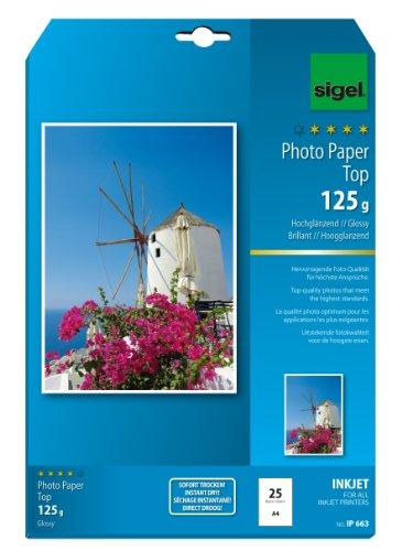 sigel-ip663-papier-photo-jet-dencre-a4-25-feuilles-extra-blanc