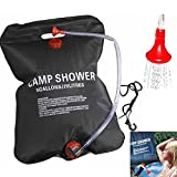 Best Solar Showers - Solar Portable Outdoor Camping Shower Showering Bag Heating Review