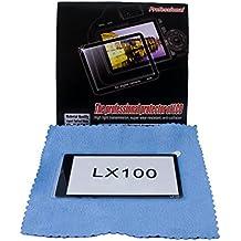 Protección LCD Profesional vidrio óptico auténtico para Panasonic Lumix DMC-LX100