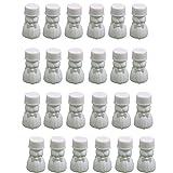 24 Seifenblasen-Set Blasen Flaschen Hochzeit Favorisiert Tischdekoration Abblasen - Weiß