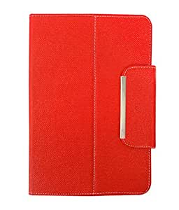 Fastway Tablet Book Cover For Lava Ivory M4-Red