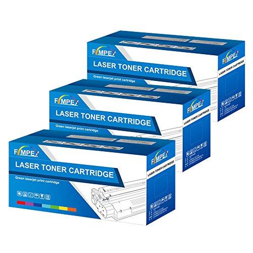 Fimpex Kompatibe Toner Patrone Ersatz für HP Colour Laserjet 3600 3600dn 3600n Q6471A/2A/3A (Cyan/Gelb/Magenta, 3-Pack) -