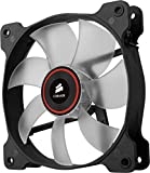 Corsair CO-9050019-WW Air Series SP120 LED 120mm Low Noise High Pressure LED Lüfter, Rot