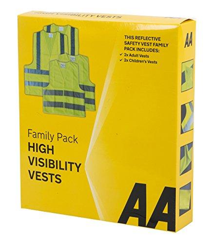 Preisvergleich Produktbild AA Warnwesten Familienpackung