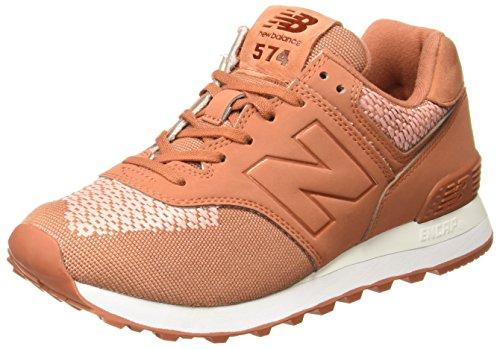 New Balance WL574FAD Sneaker Donna Arancio