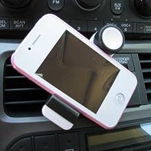 TBS®2063 Soporte para Rejillas de Ventilación de Coche Compatible con iPhone 6/6 Plus /4/5/5C/5S , Samsung Galaxy S6/S6 Edge/S5/S4/S3/Note 4/Note3/Note2 y más, Rotación de 360 grados