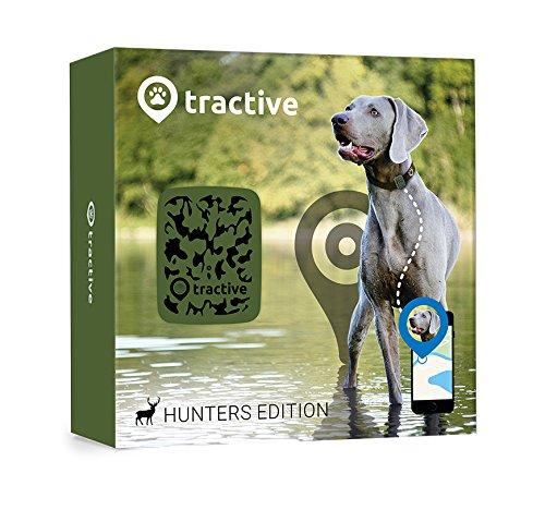 Tractive Localizzatore GPS per animali domestici, Edizione da caccia