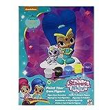 Sambro Shimmer&Shine Set De Figuras De Escayola para Pintar, Color Morado (SHI-4426-ASS)