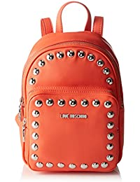 Love Moschino - Moschino, Bolsos mochila Mujer, Orange, 9x28x23 cm (B x H T)
