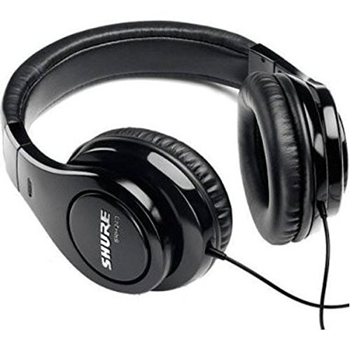Shure SRH240A, geschlossener Kopfhörer / Over-ear, schwarz, geräuschunterdrückend, druckvolle Bässe und detaillierte Höhen thumbnail