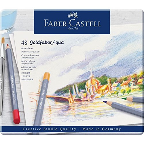 Faber-Castell 114648 Matite Colorate, 48