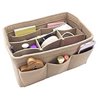 VANCORE Handbag Organiser In Bag Insert Tidy Travel Bag Cosmetic Pocket