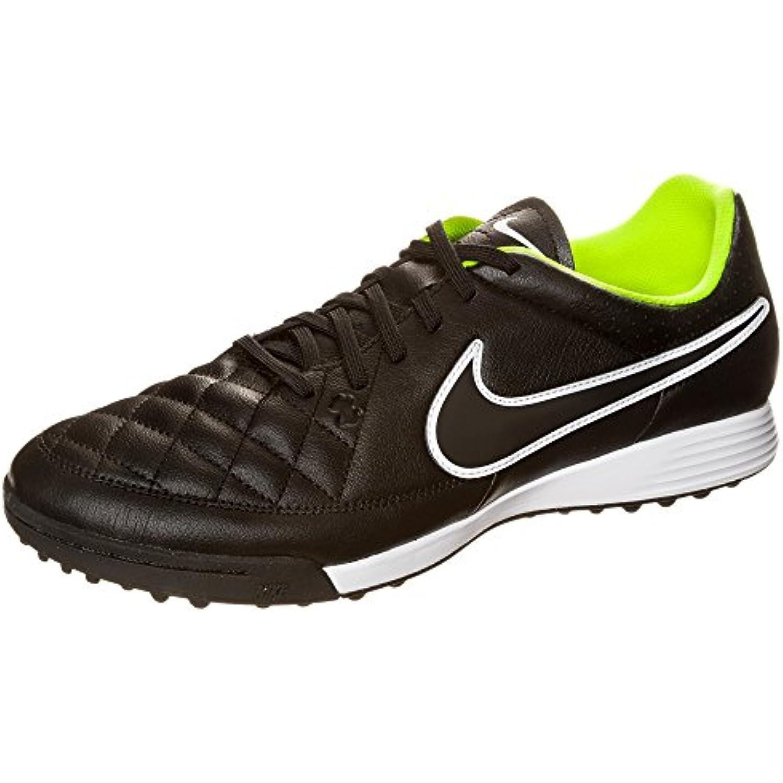 Nike Scarpe Tiempo 40.5 Genio TF, (Black-Black-Volt-White), 40.5 Tiempo  Parent d8c8b9