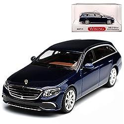Wiking Mercedes-Benz E-Klasse S213 Exclusive Kombi T-Modell Canvansit Blau Metallic Ab 2016 H0 1/87 Modell Auto