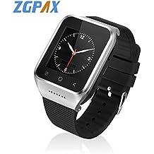 ZGPAX S8 Bluetooth Smart Watch Android 4.4 MTK6572 Dual Core GPS 3.0MP Cámara WCDMA WiFi MP3 MP4 Smartwatch Teléfono