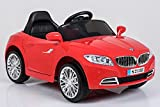 Ricco S2188 Red Kids Coupe BMW Style Ride on Car with LED Lights