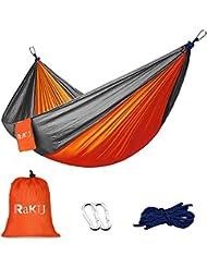 Raku® 2 Person (Holding 300KG) beweglicher im Freien Reisen Camping Parachute Nylongewebe Hammock