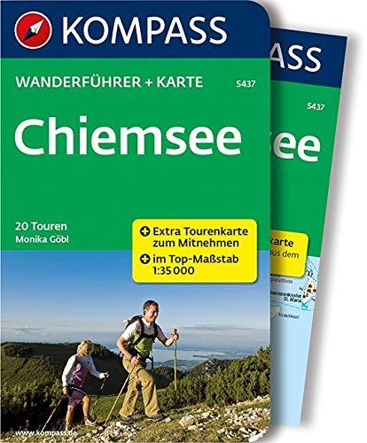 KOMPASS Wanderführer Chiemsee: Wanderführer mit Extra Tourenkarte zum Mitnehmen.: 0
