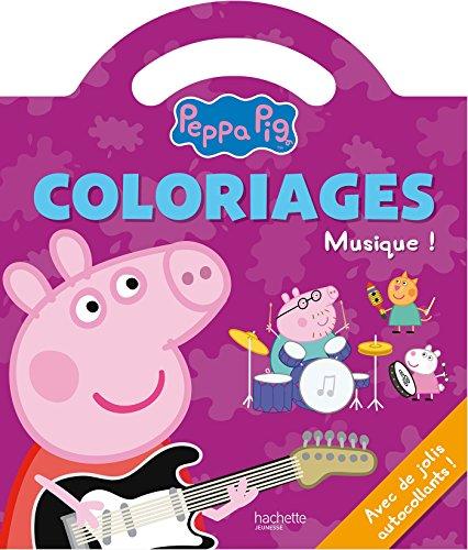 Peppa Pig / Coloriages poigne - La musique