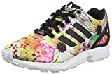 adidas Originals ZX Flux Damen Sneakers, Core Black/Core Black/Ftwr White, 36 EU