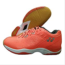 Yonex SRCP CFT Tru Cushion Badminton Shoes Orange UK8