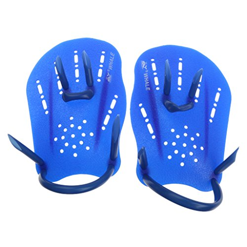 Magideal Swimming Fins Swim Webbed Hand Gloves Paddles Swimming Supplies S