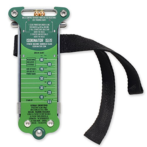 Isokinator Green Giant, mobiles Fitness- & Krafttrainings-Gerät für professionellen Muskelaufbau von Koelbel