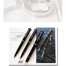 Montblanc Imperial Dragon Writers Edition 1993 Set Completo de Pluma Estilográfica + Lápiz + Bolígrafo de Bola