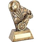 Womack Graphics JR1-RF360C Fußball-Trophäe, 2,5 cm Mitte, 18 cm, mit Gravur bis zu 50 Buchstaben