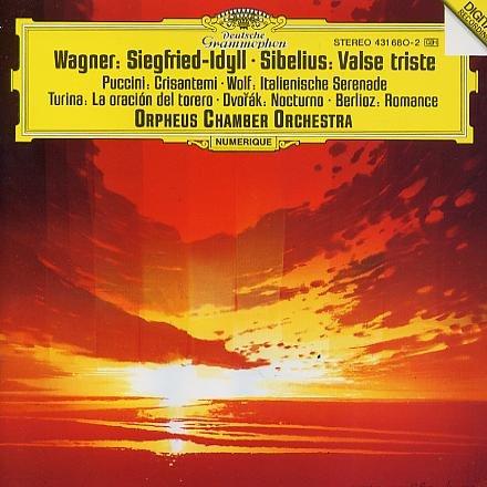 Orpheus Chamber-Divers Oeuvres:Wagner-Wolf-Puccini-Berlioz-d Vorak-Sibelius-Turina-