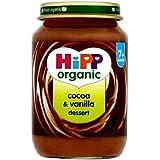 Hipp Cacao Biologique Et De Vanille Dessert, 7 + Mois 190G - Lot De 2
