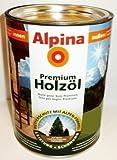 2,5L Alpina Premium Holzöl Teak