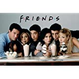 Friends-Milkshakes People Poster Print, 92x61 cm