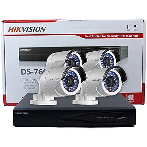 Hikvision DS-7616NI-E2/8P 16canali integrato Plug and Play POE NVR 2SATA Nero