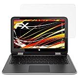 atFolix Schutzfolie kompatibel mit HP Pavilion x360 13,3 2014 Bildschirmschutzfolie, HD-Entspiegelung FX Folie (2X)
