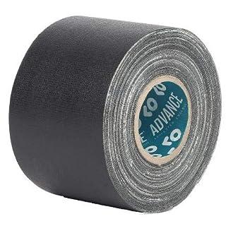 Advance Tapes AT160 Matt Black Cloth Tape, 10m x 50mm x 0.33mm