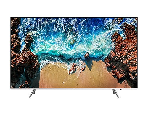 "Samsung UE82NU8002T 82"" 4K Ultra HD Smart TV Wi-Fi Nero, Argento"