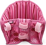 Götz Blümchen Fahrradsitz, zur Anbringung am Lenker, Puppenzubehör für Baby- & Stehpuppen 27 - 50 cm, H18 x B20 x T20 cm, Spielzeug für Kinder ab 3 Jahren