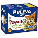 Puleva Peques 3 Leche Infantil Crecimiento con Cereales - Pack 6 x 1 L