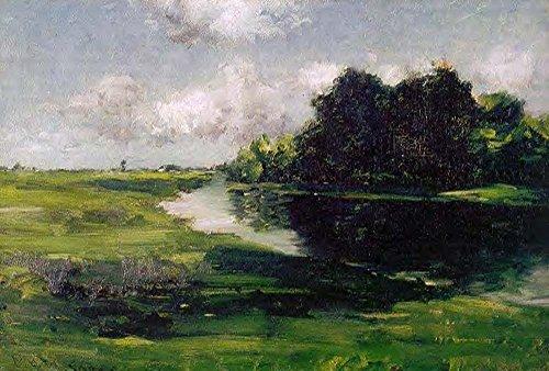 Das Museum Outlet-Long Island Landschaft nach einer Dusche von Regen, 1885-89-A3Poster