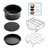 PRXD 5 pièces Universal Air Fryer Accessorie pour Gowise Phillips et Cozyna Applicable à 3.7QT 5.3QT 5.8QT…