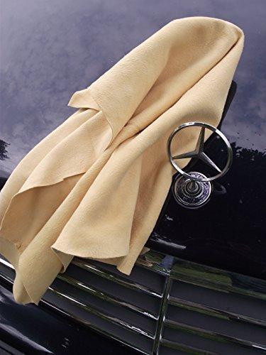 Top assortimento: real cuoi pelli scamosciati, pelle-auto, panno, panno in pelle - originale volltrangerbung - formato speciale 55x85 cm