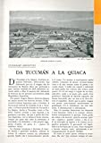 Itinerari argentini. Da Tucuman a la Quiaca.